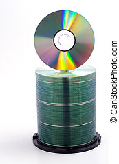 cd pile 3 - a stack of blank cds