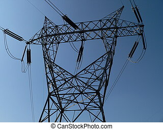 Power Tower - Electrical line support tower