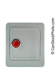 Security- Safe Box - A metal safe. 14MP camera, isolated.