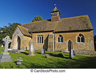 Church - Old English Church in Somerset England