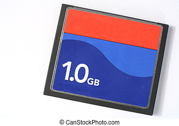 Compactflash card 2 - A 1GB CompactFlash card