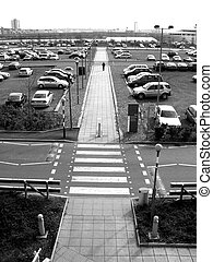 Excell 133 - This is the car park of the Excel centre in...
