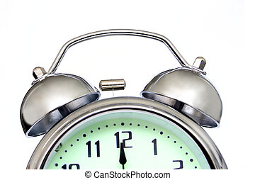 Alarm Clock - Close up of alarm clock