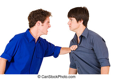Business People 20 - Two business partners fighting