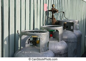 Gas Cylinders - Domestic use gas cyclinders for hot water...