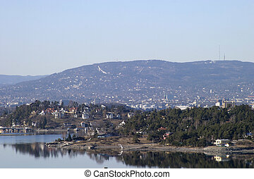 Oslo Fjord on a Spring Day
