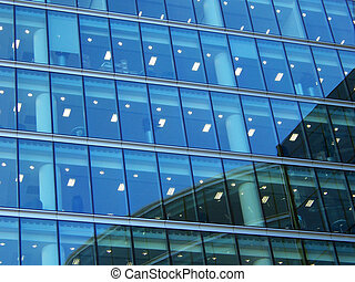 Reflection 004 - Reflections on a building