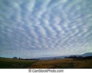 stratus cloud - vertical stratus cloud formation, new...