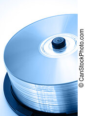 CD in Spindle - Blank CD in Spindle