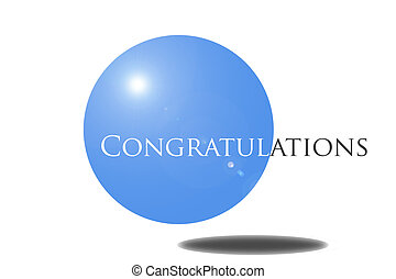 Congrats 001 - Created in Phtotoshop