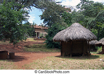 Hut 001 - A Kenyan hut
