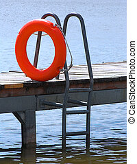 Safety buoy - Orange safety buoy