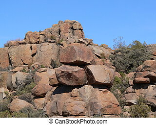 Rock formation - Rocky terrain