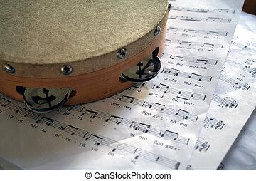 Leçon, musique