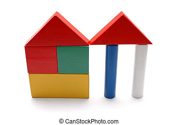 Building Blocks - Wooden Building Blocks