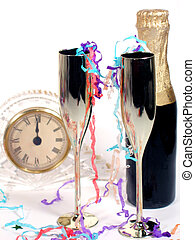 Midnight - New Years still life