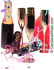 New Years Eve still life
