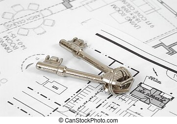 Keys - And floorplan
