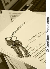 Keys - And loan agreement