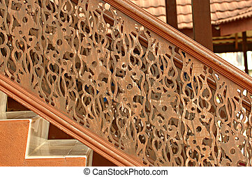 abstract stair - engraved stair