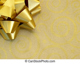 gold gift - horizontal