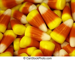 candy corn - halloween candy corn candys ,shallow dof