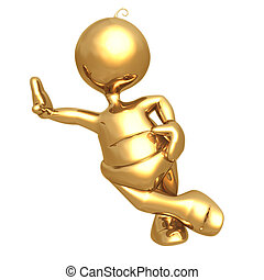 Baby Leaning - Concept & Presentation Figure 3D (GeoZ031)