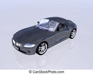 Bmw Z4 25 i sportscar - Bmw Z4 25 i sportscar cabriolet in a...