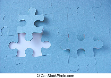 missing link - jigsaw which is not quite complete