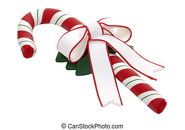 Candy Cane - Isolated Candy Cane
