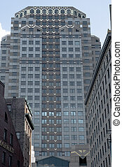 Boston decorative skyline 12 - view of the decorated 75...