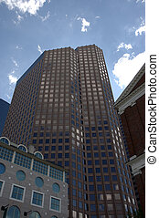 Boston skyline 4 - This building of 500-foot located in...
