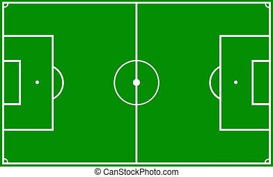 soccer pitch - a soccer pitch