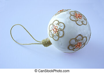 christmas bauble - hand made christmas decorative bauble