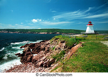 Lighthouse 1 - Old lighthouse in Gaspesie,quebec