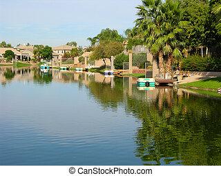 Lake Houses 3 - Houses on a lake