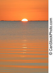 Biscayne Sunset - Sunset from Elliot Key