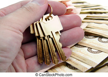 golden key, success - golden key to success, canadian dollar