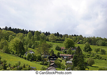 Swiss Village - View from a small Swiss Village