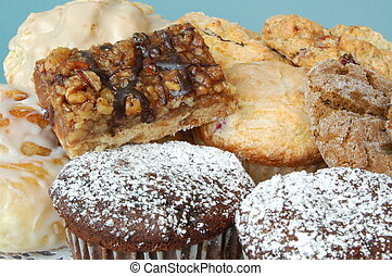 Pastries - A group of delicious pastries
