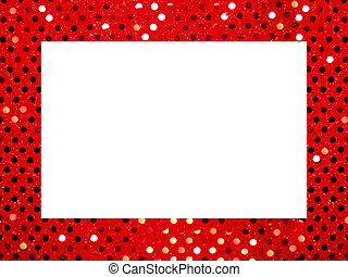 sequin borders - Squined background frame