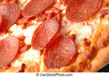 pepperoni pie 591 detail macro