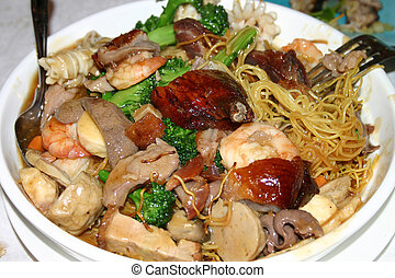Special Chow Mein - Chinese Special Chow Mein Noodles