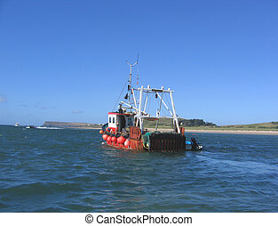 Fishing Trawler - Inshore Fishing in Cornwall
