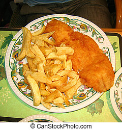 Real Fish and Chips - British Fish and Chips