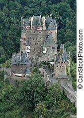 Burg Eltz Castle - Burg Eltz storybook 12th century castle...