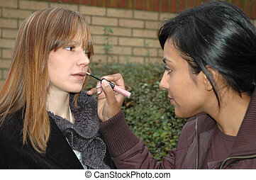 Final Touches1 - Make Up Artist at work