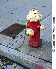 hydrant - fire hydrant and curb