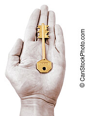 cipher key - to furnish the clue to smth