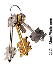 House Key - Sheaf of keys from a house